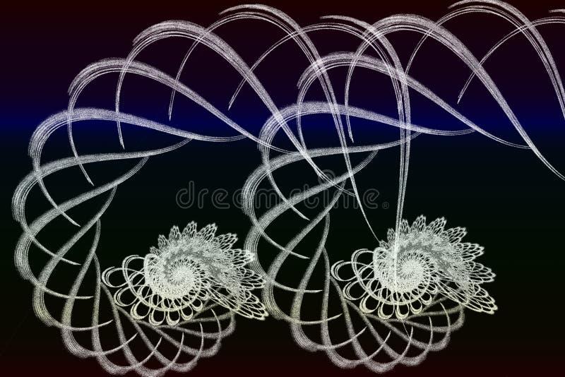 Creative Trendy garlend shapes vector design stock images