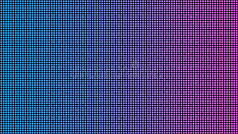 Creative vector illustration of led screen macro texture isolated on transparent background. Art design rgb diode. Seamless pattern. Abstract concept graphic vector illustration