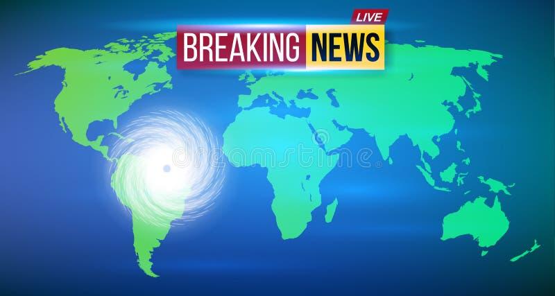 Creative vector illustration of realistic hurricane cyclone wind, tropical typhoon spiral storm, spin vortex on. Transparent background. Art design tornado royalty free illustration