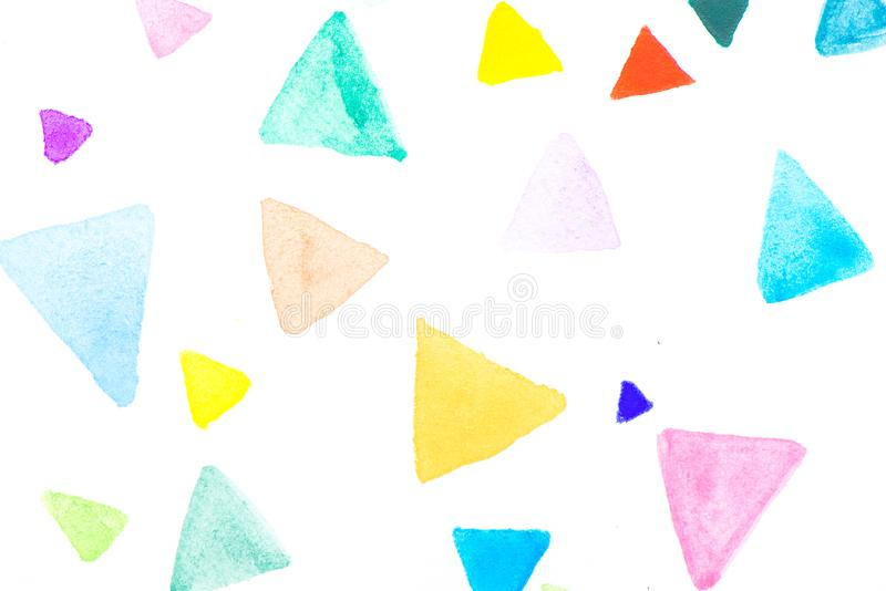 Creative vibrant grunge watercolor abstract background.  stock image