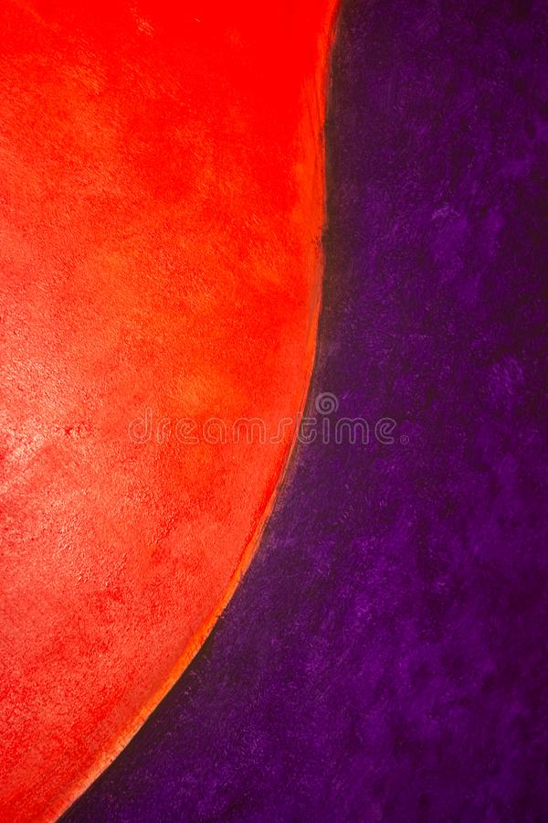 Creative vintage background in red and purple. Acrylic paint in saturated colors. Space, bright, wall, empty, aged, light, science, dark, fantasy, art, black stock photos