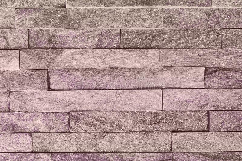 Creative vintage purple natural quartzite stone bricks texture for background use. Creative still royalty free stock photos