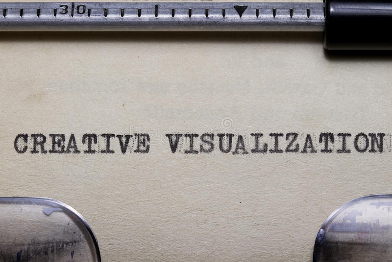 Download Creative Visualization stock image. Image of typewriter - 24419677