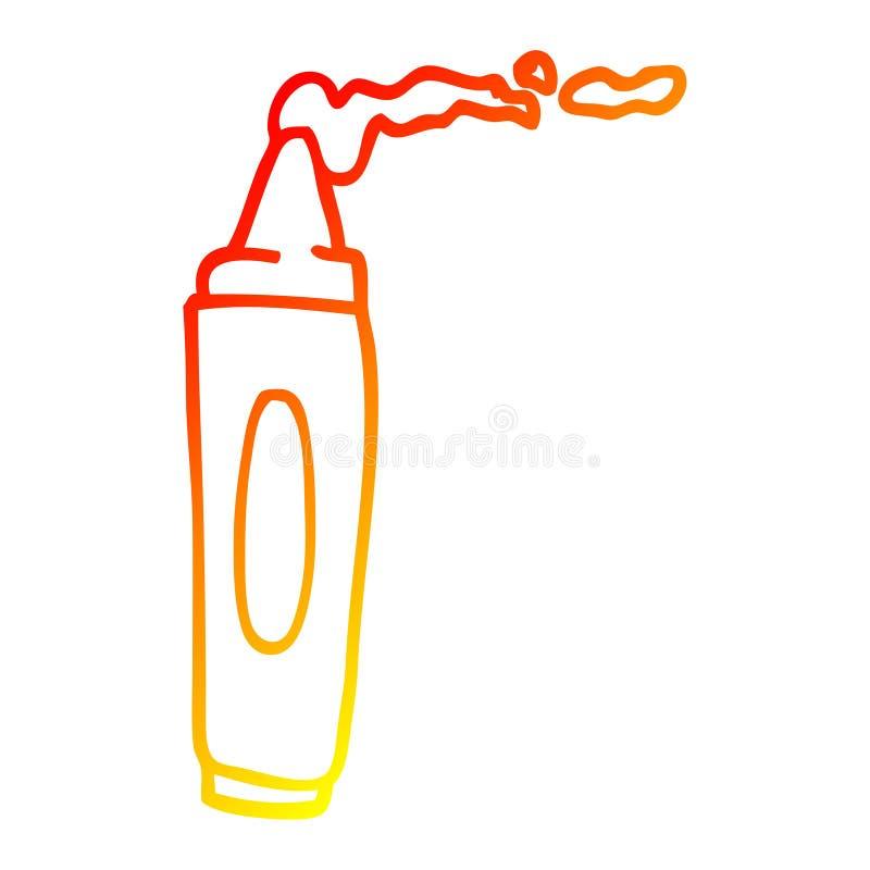 Crayon Coloring Art Color Cartoon Warm Line Gradient ...