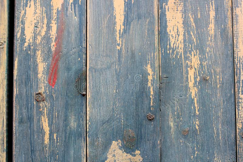Creative wood background. Patterned and textures background of brightly colored planks. Art of colorful color on wooden wall. Weat stock photo