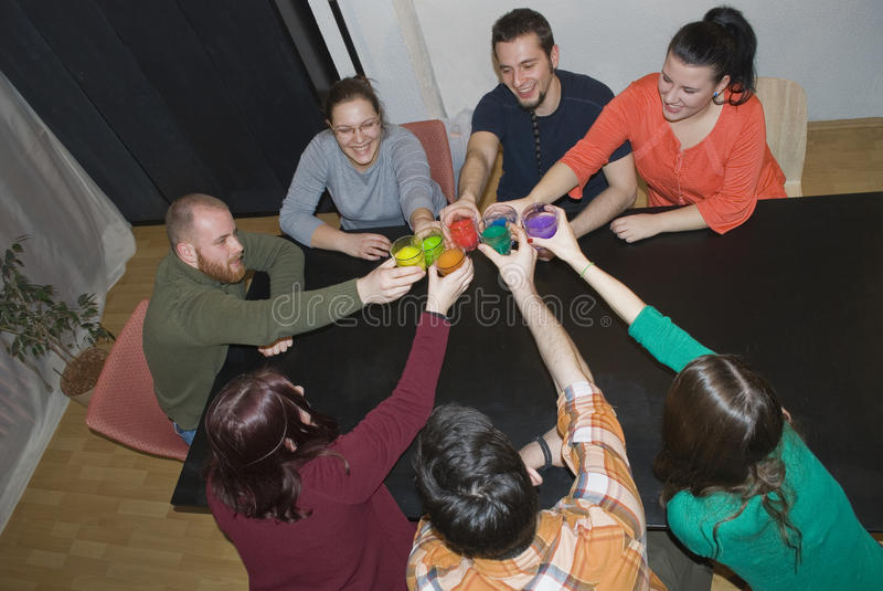 Creative workshop - teamwork stock photography