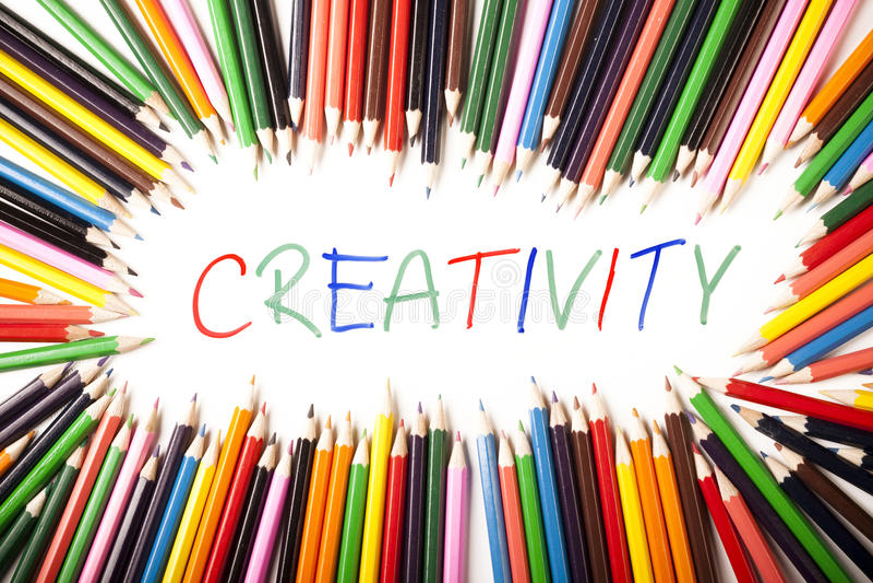 Creatividad foto de archivo libre de regalías