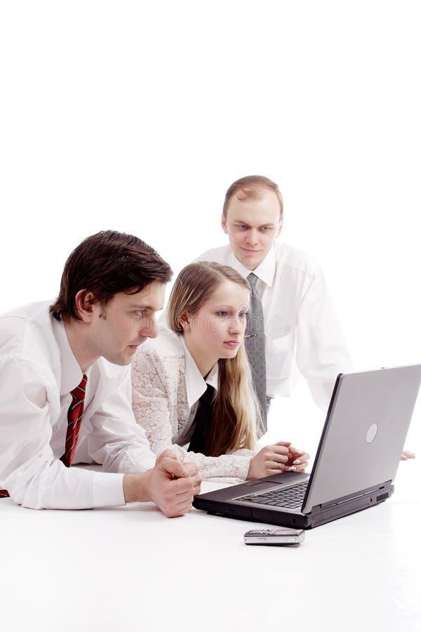 Creativing Arbeitsgruppe stockbild