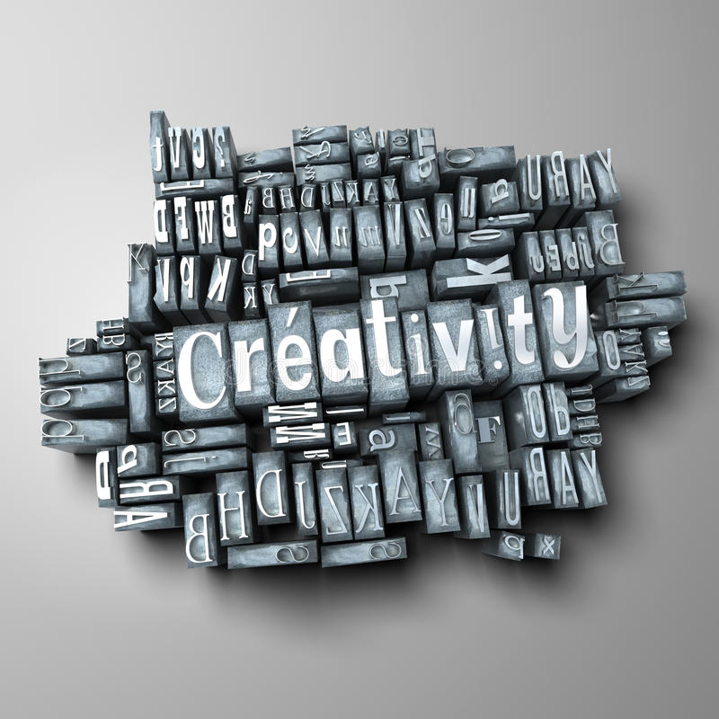 Creativiteit vector illustratie