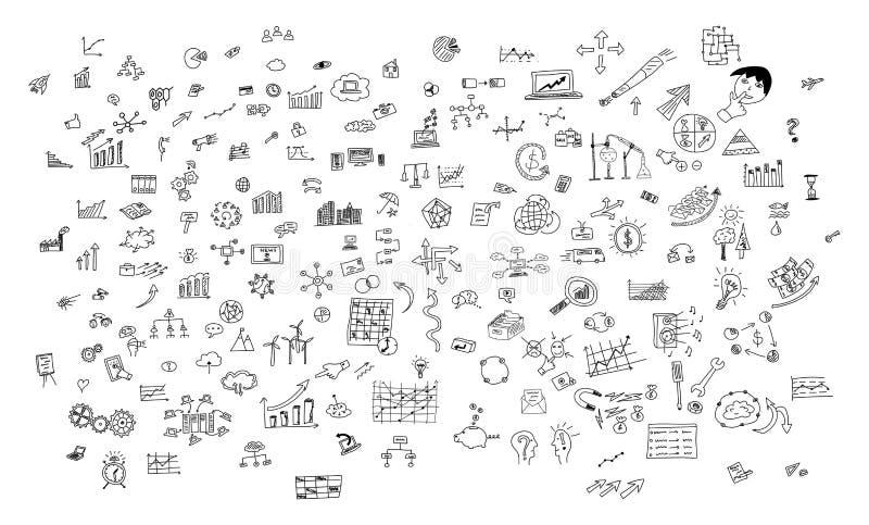 Creativiteitconcept op witte achtergrond vector illustratie