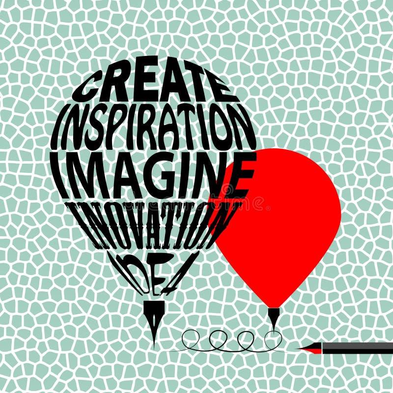 Creativity vector illustration