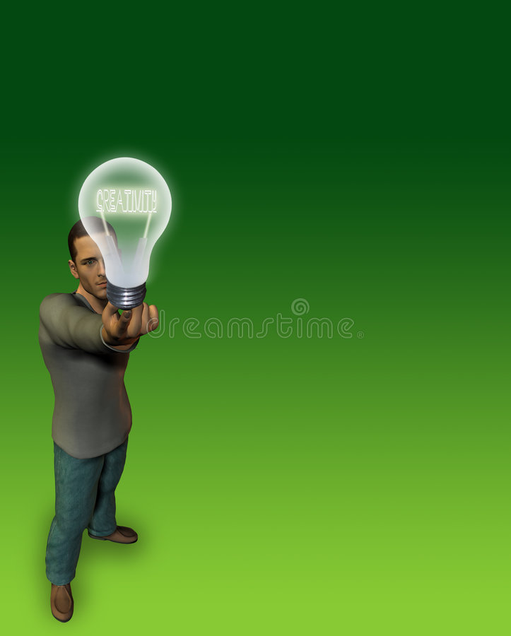 Creativity stock illustration