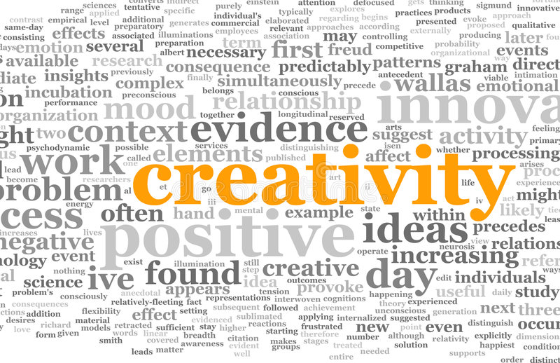 Creativity stock photo