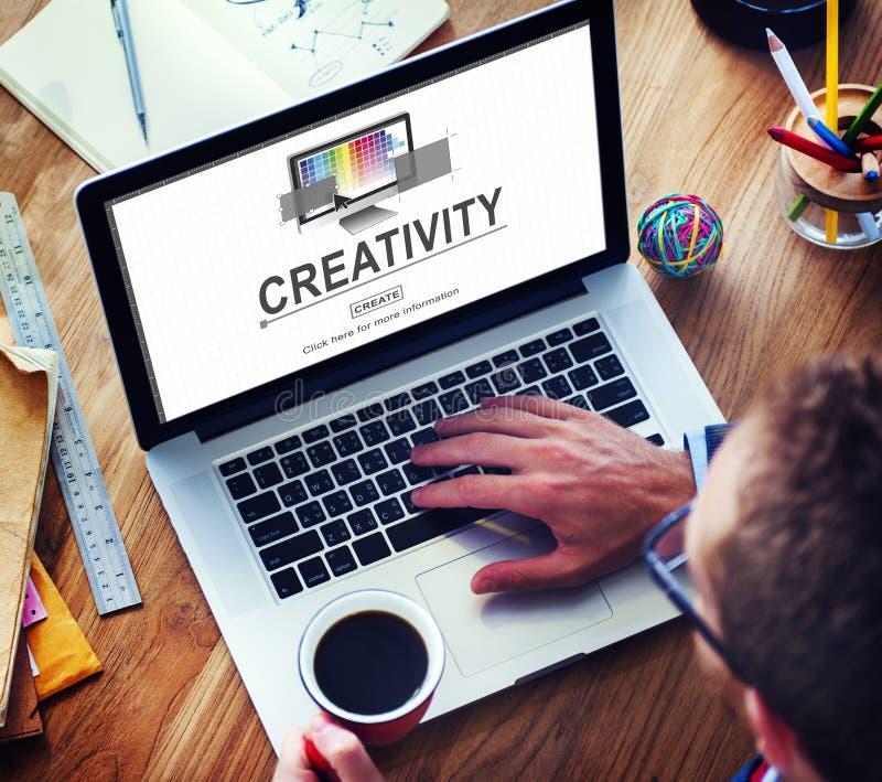 Creativity Ability Ideas Imagination Innovation Concept royalty free stock photography