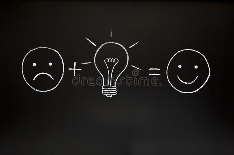 Download Creativity Concept On Chalkboard Stock Photo - Image: 20689526