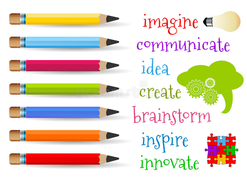 Creativity concept vector illustration