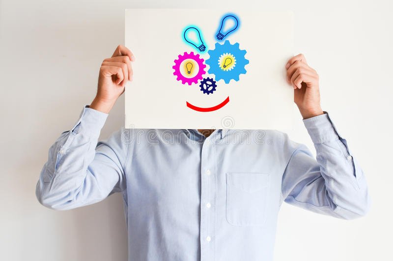 Creativity concept suggesting a new business idea royalty free stock image
