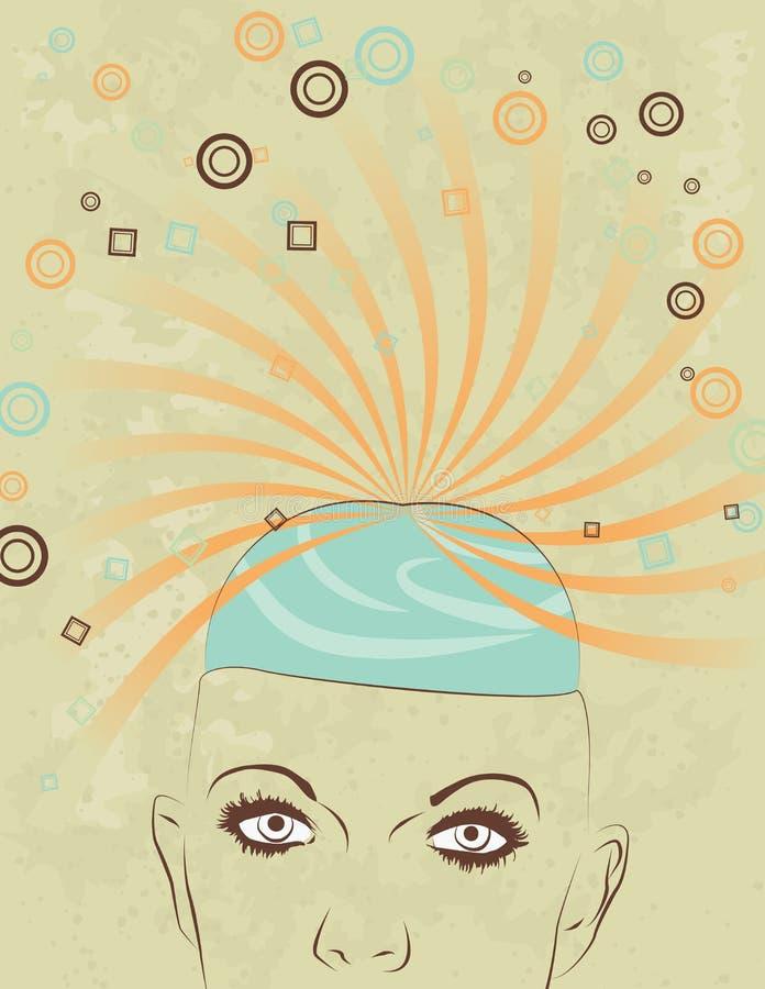 Creativity Concept Of Woman S Head Royalty Free Stock Photo