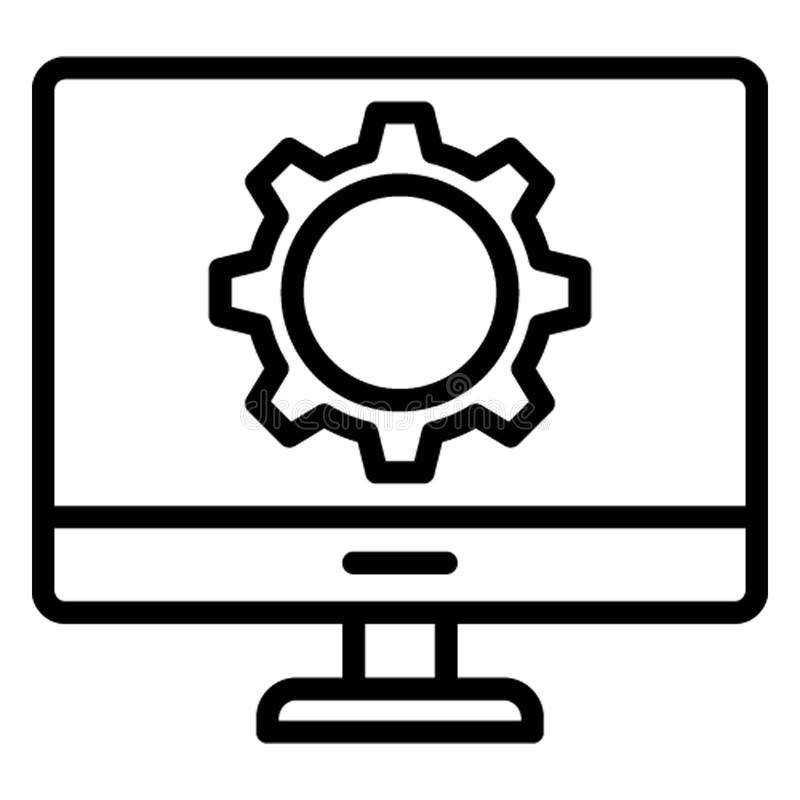 Creativity Isolated Vector Icon which can easily modify stock illustration