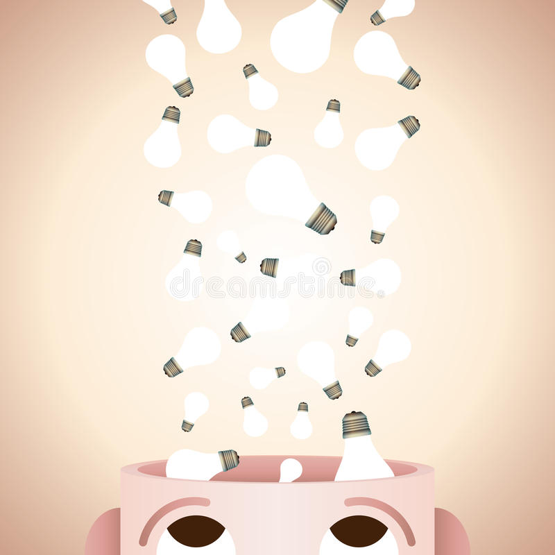 Creativity in Mind royalty free illustration