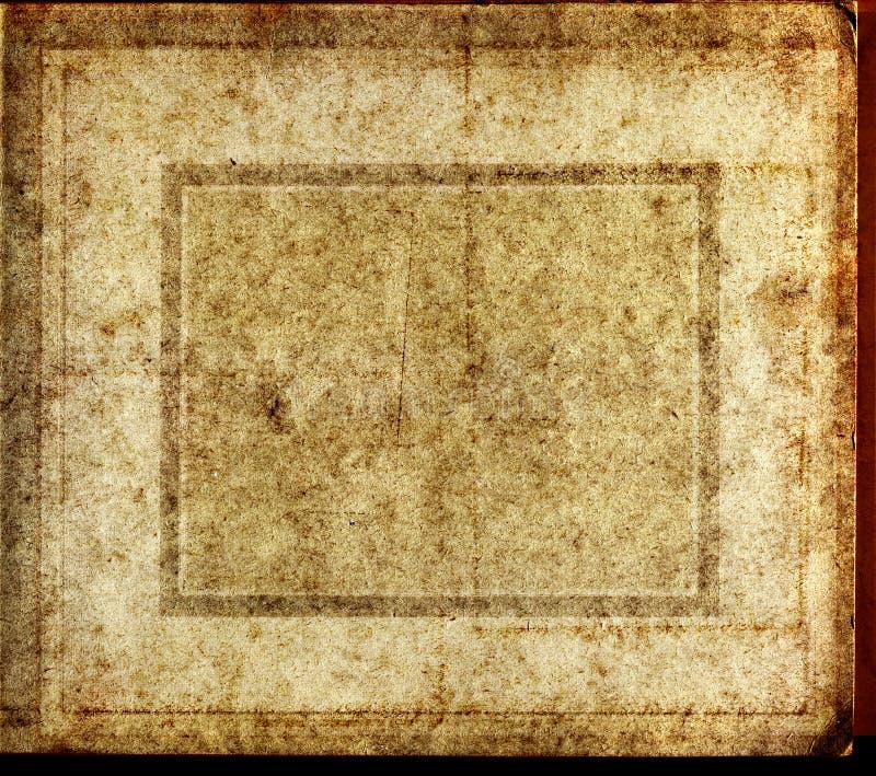 Creativo de papel velho da textura imagens de stock