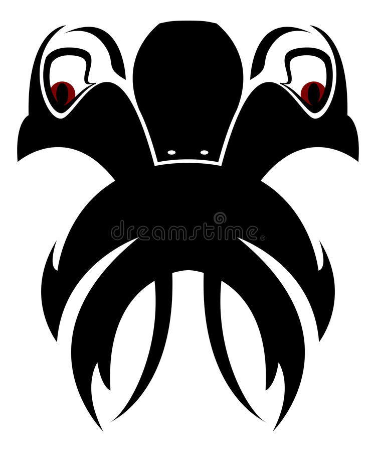 Download Creature stock illustration. Image of creature, tattoo - 11555775
