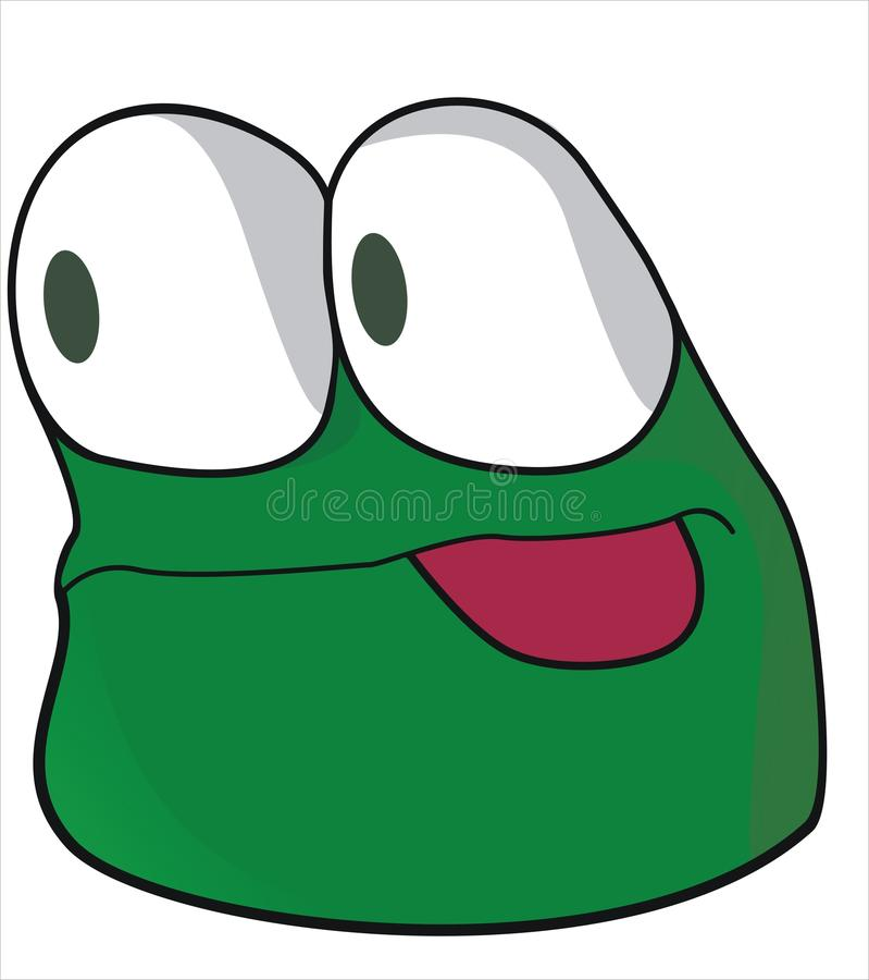 Download Creature stock vector. Image of amusing, grin, smirk - 12364866
