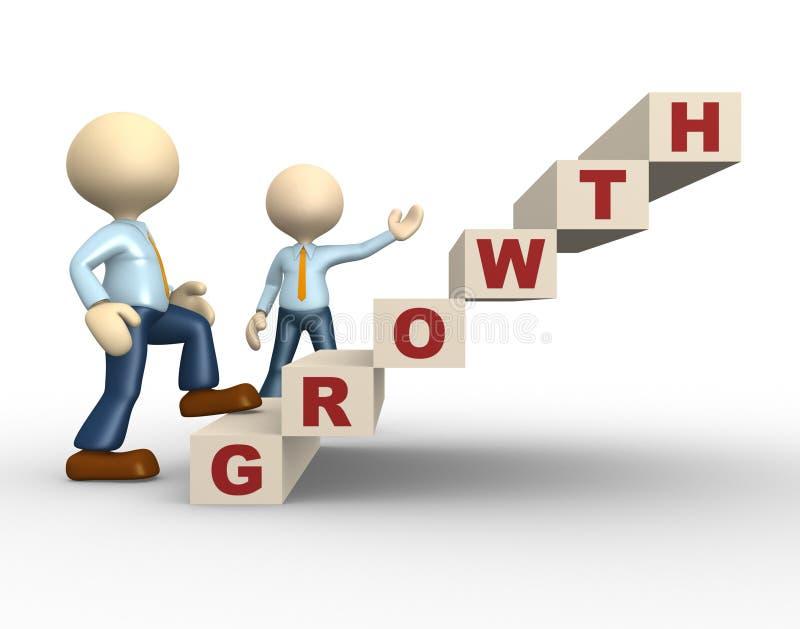 Crecimiento stock de ilustración