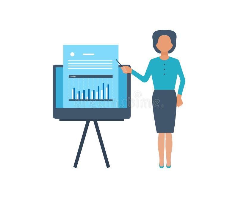 Crecimiento de la inversión Cursos de aprendizaje en línea libre illustration