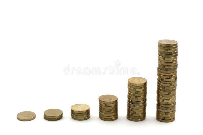Crecimiento financiero fotografía de archivo libre de regalías