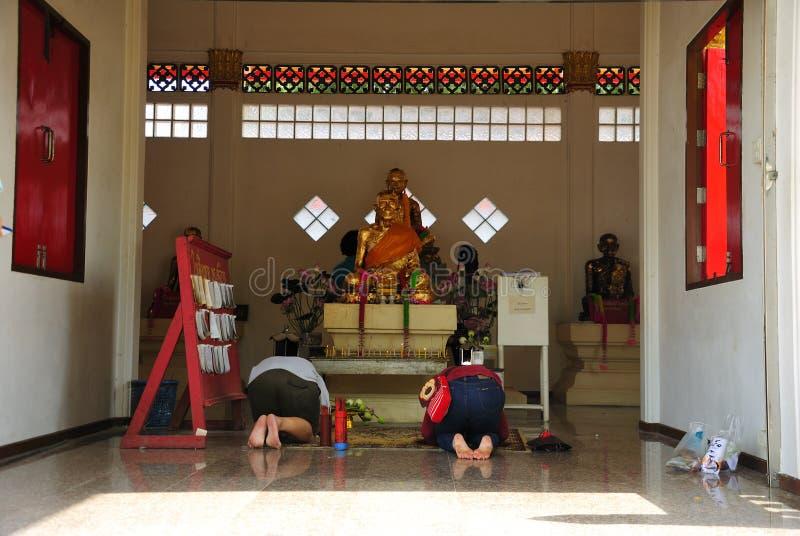 Credenza Buddha fotografie stock