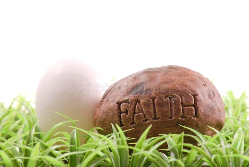 Credenza religiosa di pasqua domenica fotografie stock