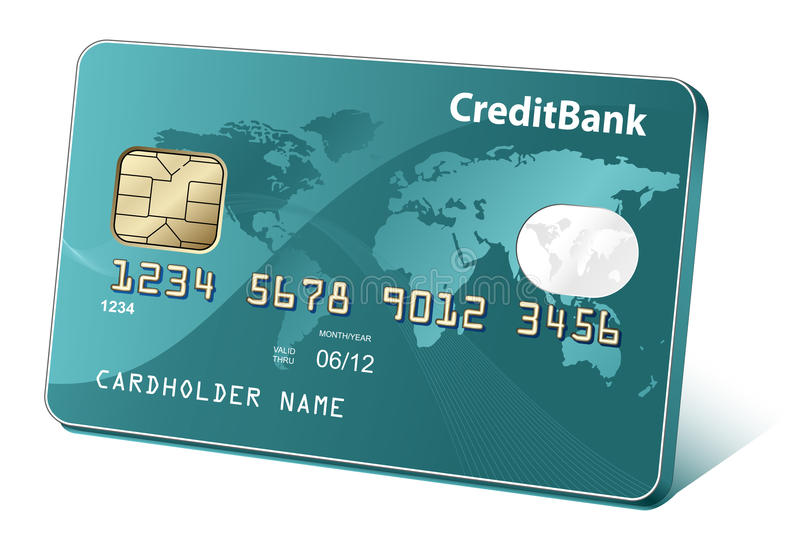 Download Credit card stock vector. Image of dividends, money, currency - 18001890