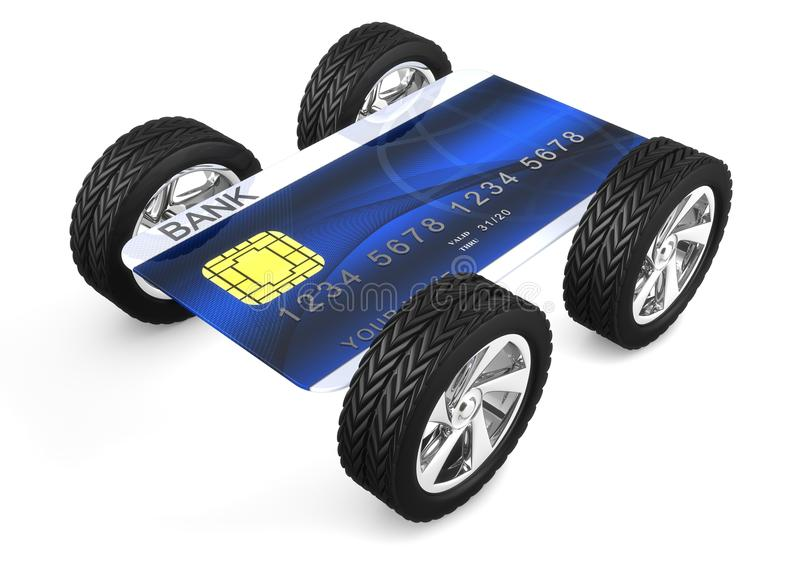 Download Credit card stock illustration. Image of finance, icon - 18152744