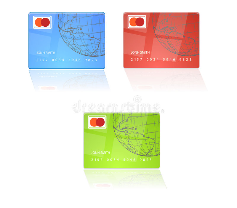 Download Credit Card stock vector. Illustration of mastercard, identity - 3859496
