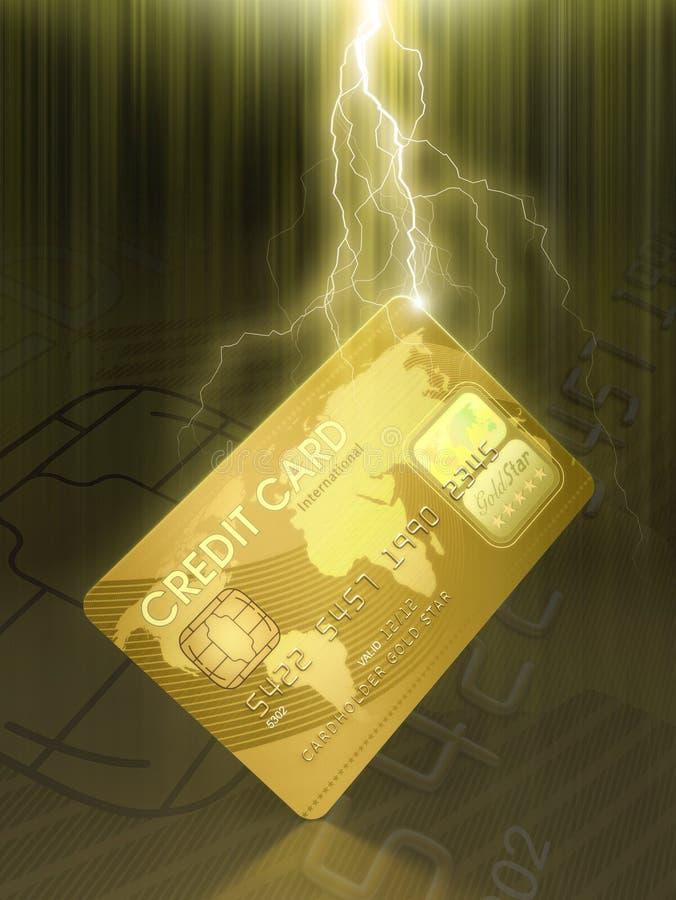 Download Credit Card stock illustration. Image of credit, gold - 4310394
