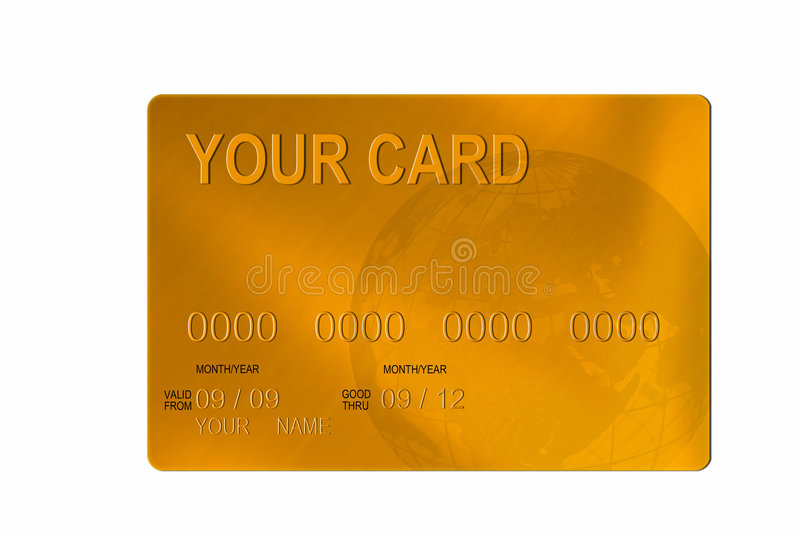 Download Credit card stock illustration. Image of paying, credit - 8705023