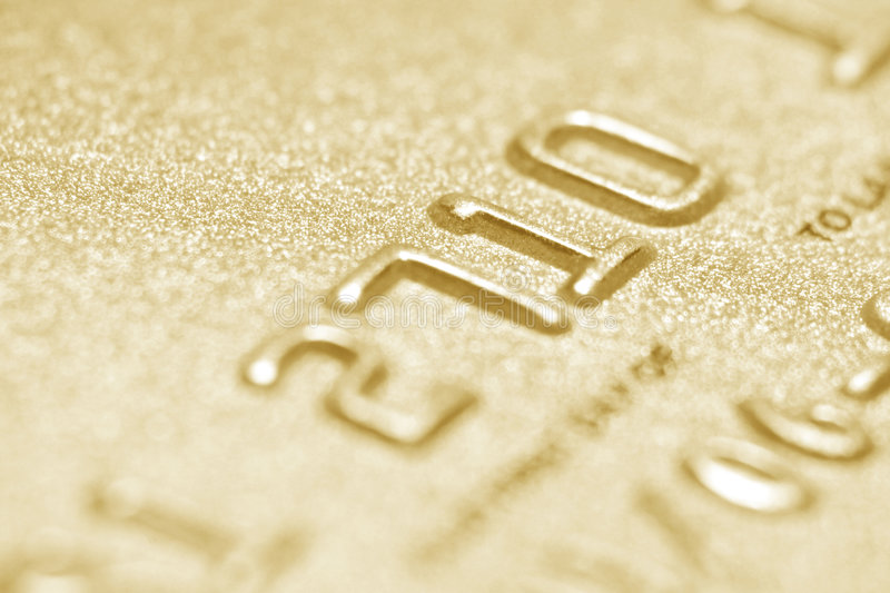 Download Credit card close up stock photo. Image of financial, golden - 1423654