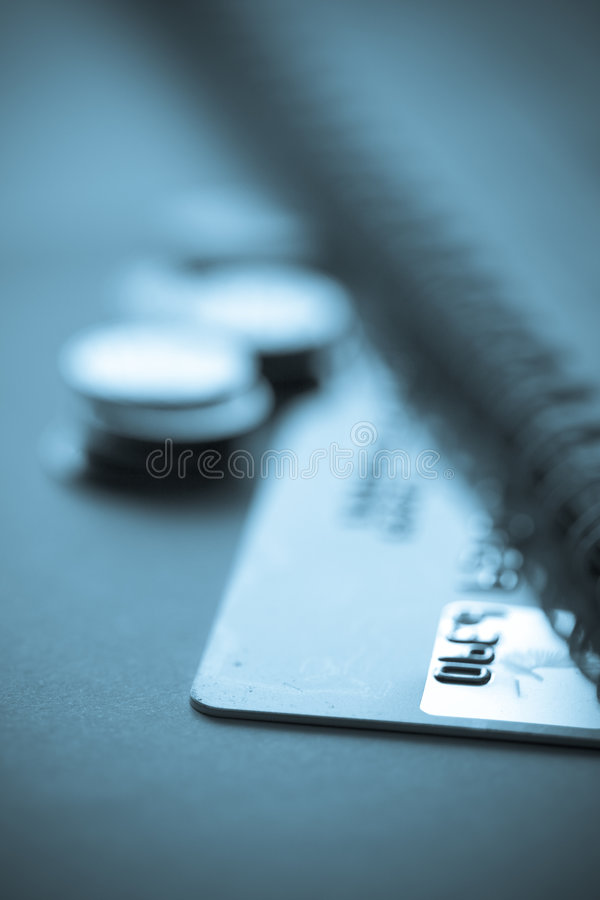 Credit card finance concept