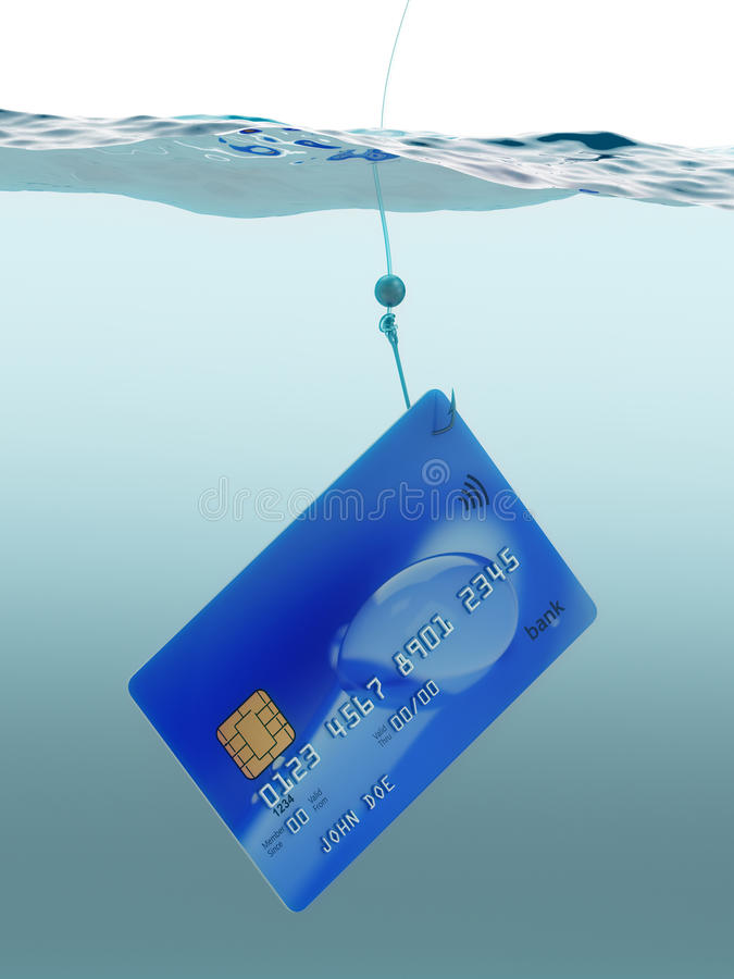 Free Credit Card Fraud Split Level Concept 3d Illustration Stock Photo - 73426970