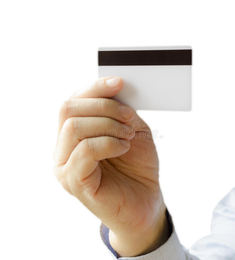 Download Credit card stock image. Image of isolated, success, hand - 32233697