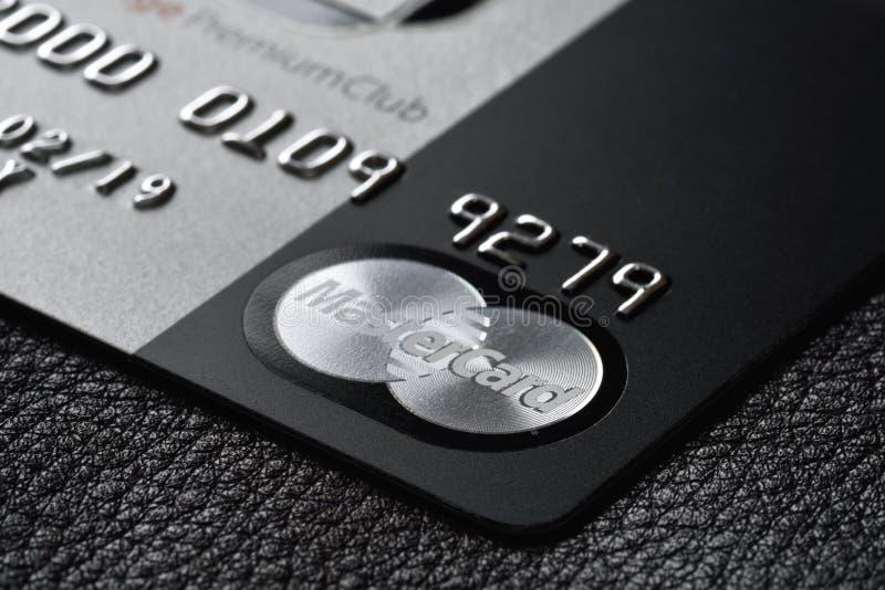 credit card mastercard editorial stock image image of