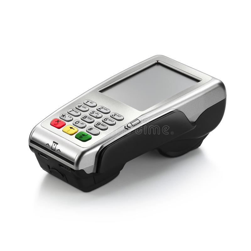 Free Credit Card Reader Royalty Free Stock Photography - 33504027