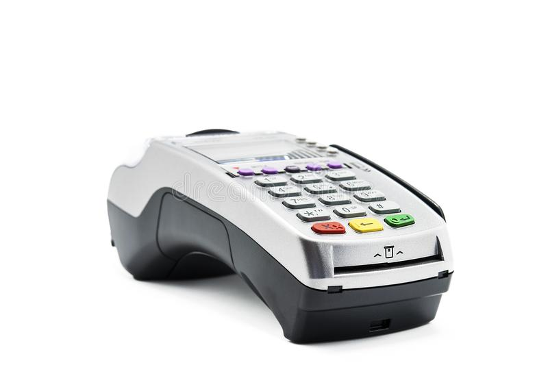 Credit card reader machine on white background stock photo image download credit card reader machine on white background stock photo image of business background reheart Image collections