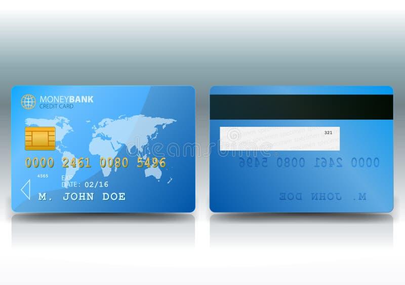 Credit Card Sample Stock Image
