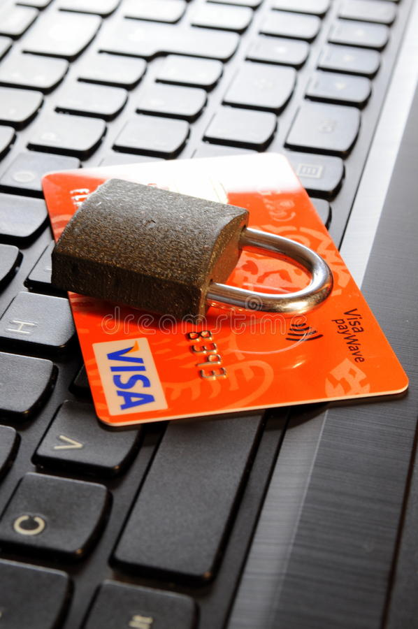 Credit card security stock images