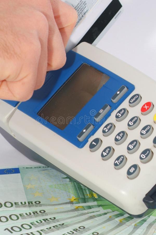 Credit Card Terminal royalty free stock image