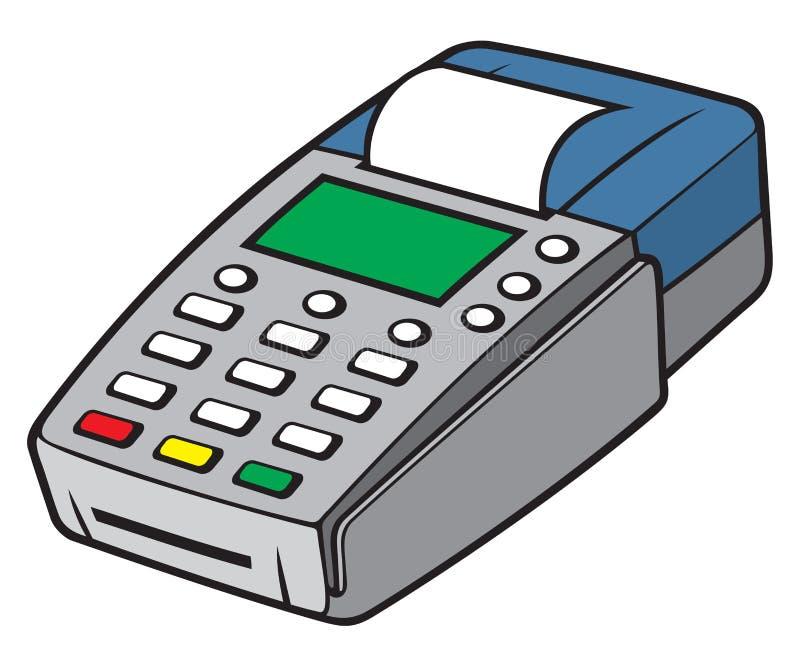 Credit card terminal stock vector. Illustration of card - 49054981
