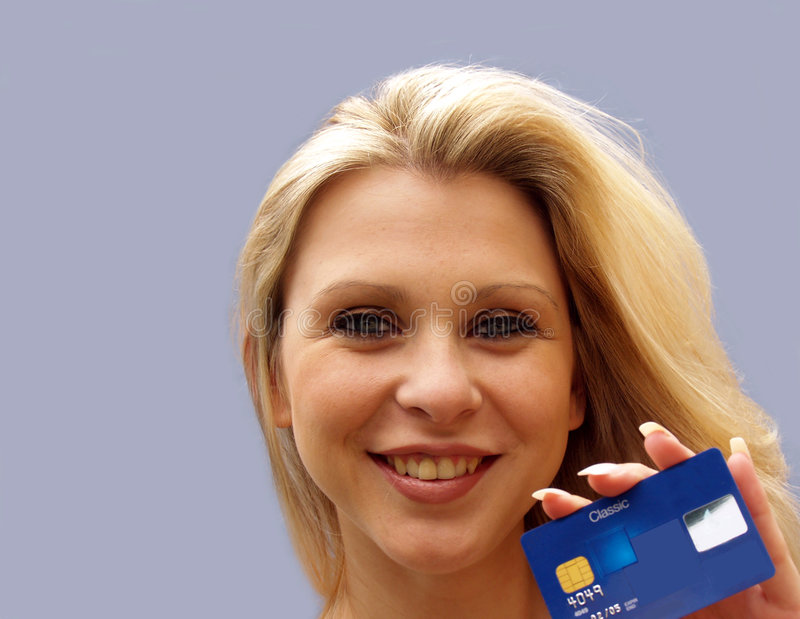 Credit Card User royalty free stock images