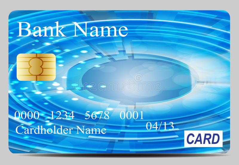 Download Credit Card Vector Illustration Stock Vector - Image: 31596949